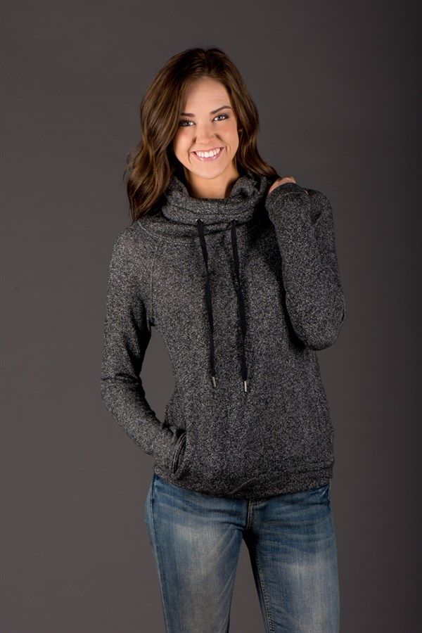 Cozy Cowl Neck Pullover | Want in a different color though, not black                                                                                                                                                                                 More