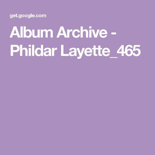 Album Archive - Phildar Layette_465
