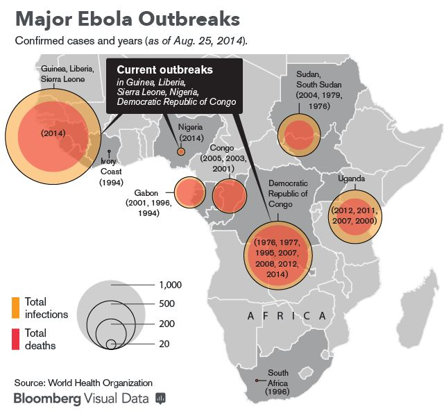 Best Ebola Images On Pinterest Liberia Troops And Africa - Ebola us map