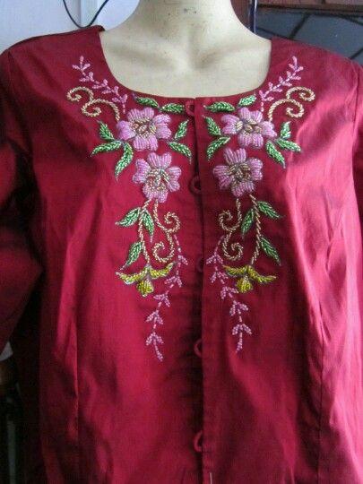 bead embroidery dress
