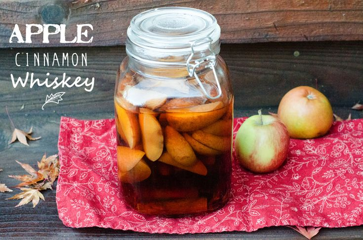 Apple Cinnamon Whiskey | Musings From A Birthday Girl Mess