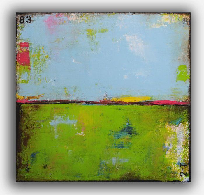 Original Painting Abstract by erinashleyart on Etsy