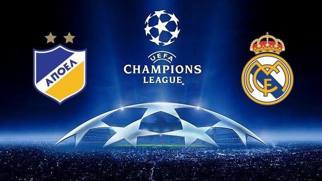 K.O 2.45  APOEL vs Real Madrid UEFA Champions League Live Streaming UCL http://ift.tt/2zi0dsL Madrid Match UCL