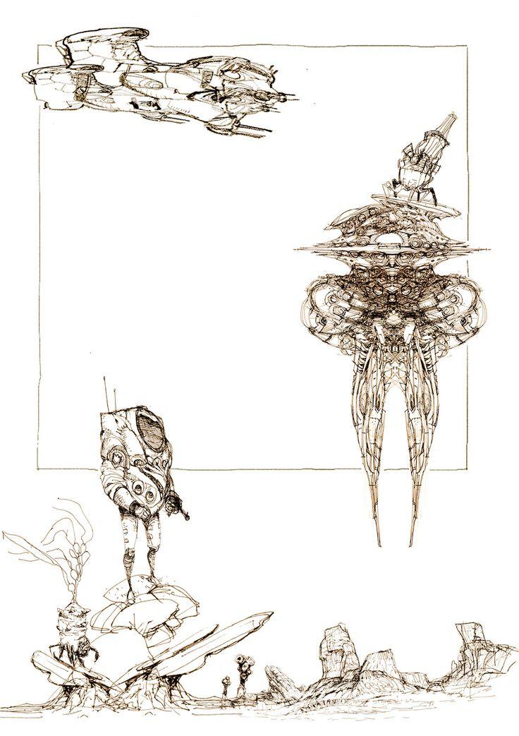 sketch, yasu _ on ArtStation at https://www.artstation.com/artwork/2KQ0a