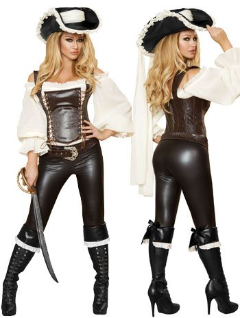 Seductive Pirate Wench Costume