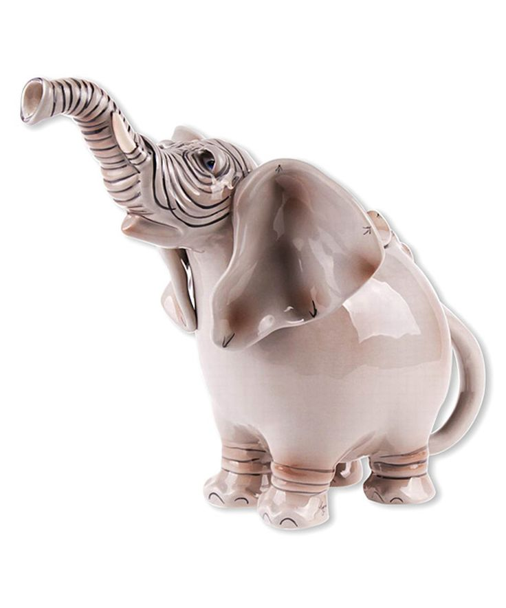 Look what I found on #zulily! Elephant Teapot by Blue Sky #zulilyfinds