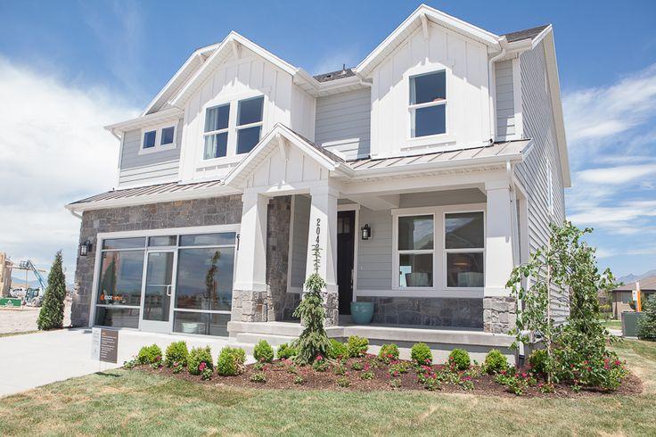 14 best images about craftsman exterior on pinterest for House plans utah craftsman