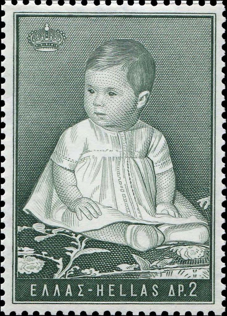 1966 Ελληνικά γραμματόσημα**Διάδοχος Αλεξία Τεμάχια : 3.414.321