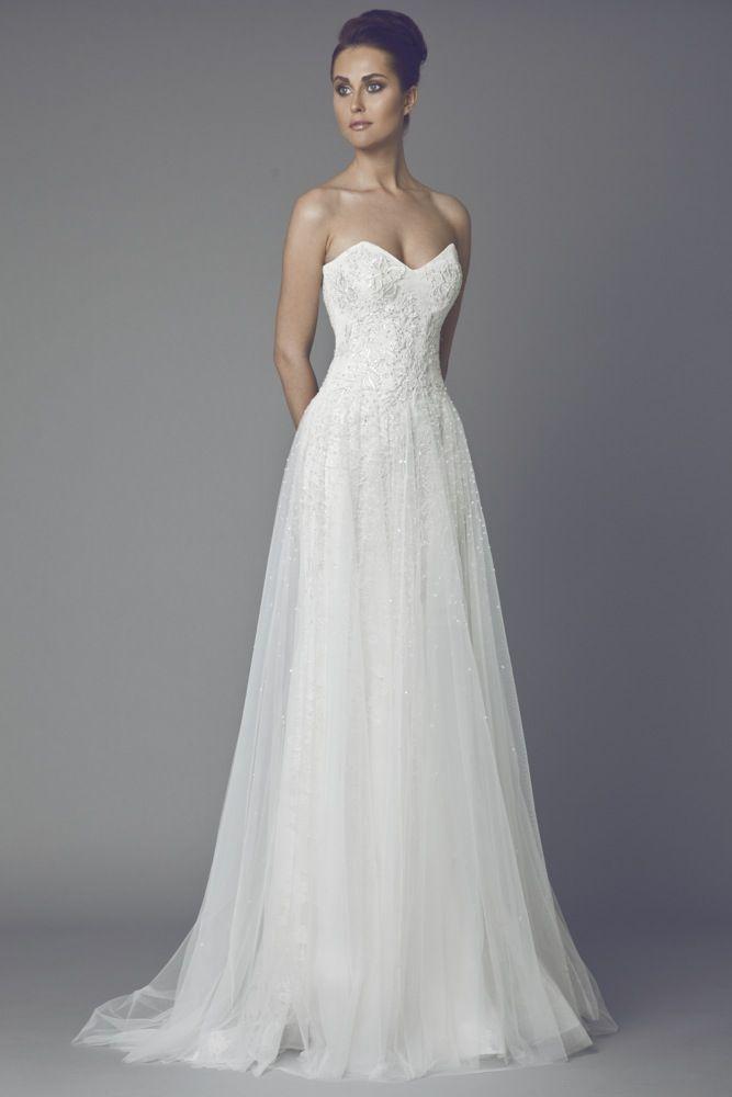 Tony Ward 2015 Bridal Collection.  Available at Designer Bridal Room.