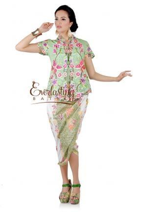 10184 Delias embroidery green top  http://tokofbku.co/everlastingbatik