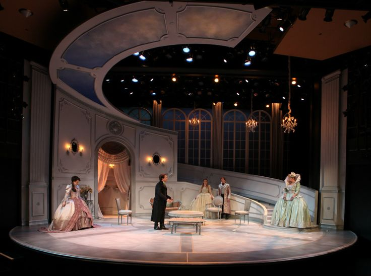 ADAM MIECIELICA DESIGNS for THE MISANTHROPE by THE SHAKESPEARE THEATRE OF NEW JERSEY