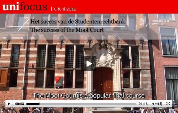 great interview by student Nicole Diepenmaat on Moot Court in Unifocus