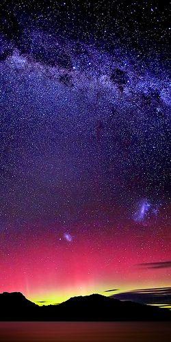 Aurora Australis & The Milky Way ~ Tasmania, Australia