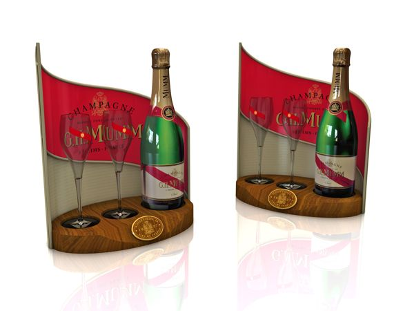 Displays for Distilled Beverage Company on Behance