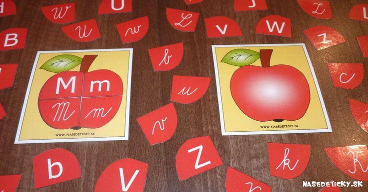 Jabĺčka a písmenká
