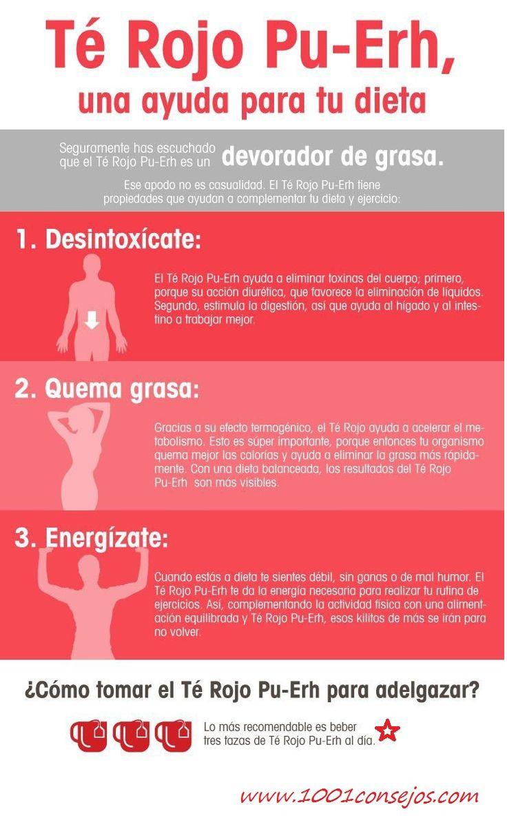 ¿Conoces los maravillosos beneficios del #terojo?   #tequemagrasa #salud #dieta