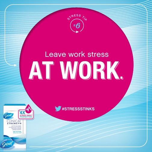 how to leave stress at work