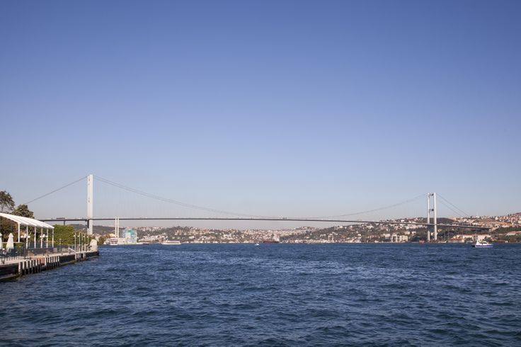The Bosphorus in all its glory from Ciragan.