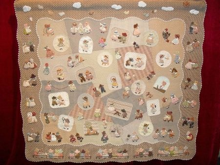 Sunbonnet sue appliqu quilt by reiko kato very detailed - Reiko kato patchwork ...