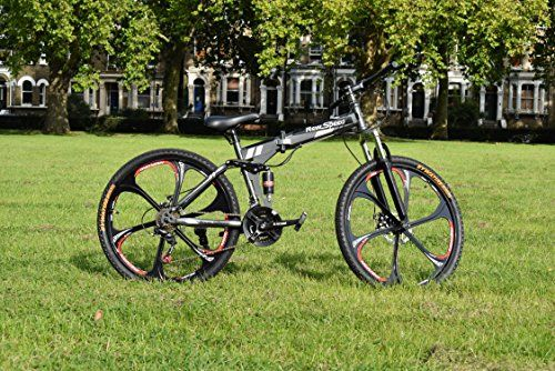 Folding Mountain Bike 26 inch Grey