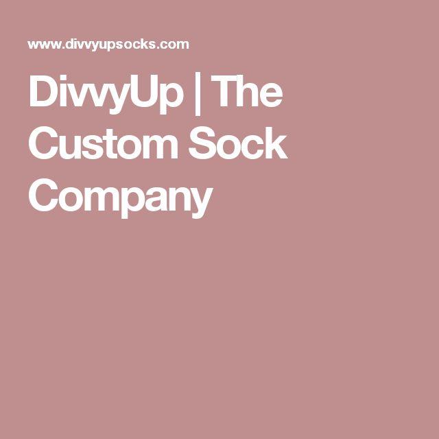 DivvyUp | The Custom Sock Company