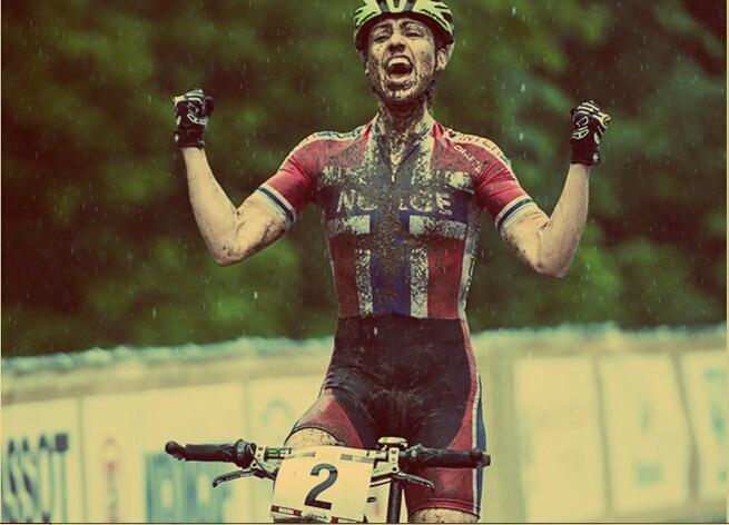 Ride a bike. Get muddy. Be awesome. Gunn-Rita Dahle Flesja