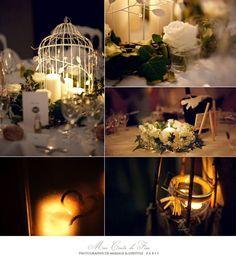 Idées déco : une table de mariage romantique pour l'hiver   Idée déco d'helline