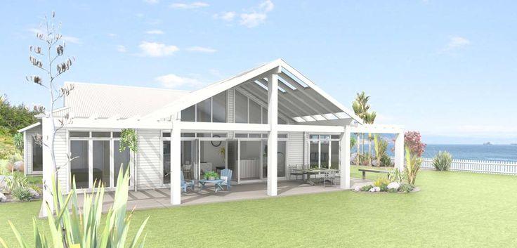 Otaki 4 bedroom house design Landmark Homes builders NZ