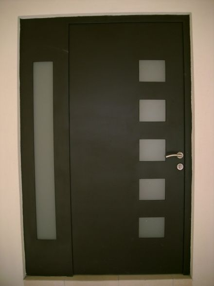 Las 25 mejores ideas sobre puertas de entrada modernas en for Puertas metalicas modernas para exterior