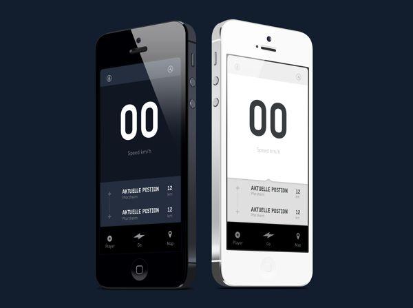 etapes App by Martin Drozdowski, via Behance