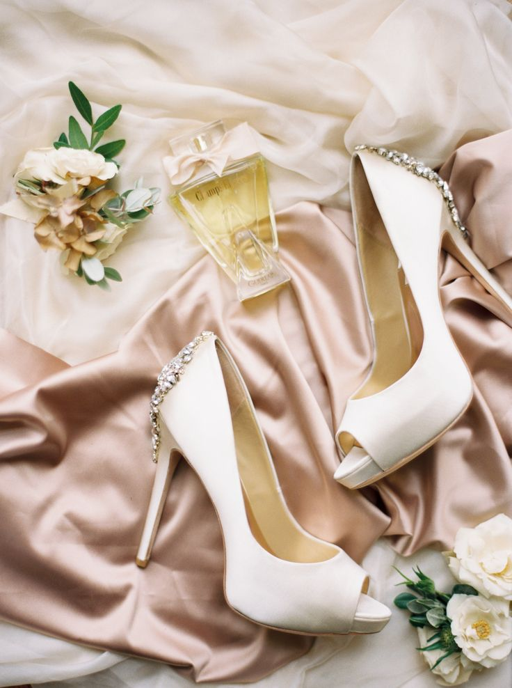 Badgley Mischka - Wedding Heels - Old World Elegance | Lily & Sage | Luxury Wedding Planning & Styling