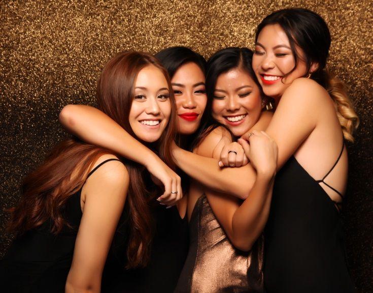 Howick College Ball 2016. Gorgeous gals!  www.whitedoor.co.nz