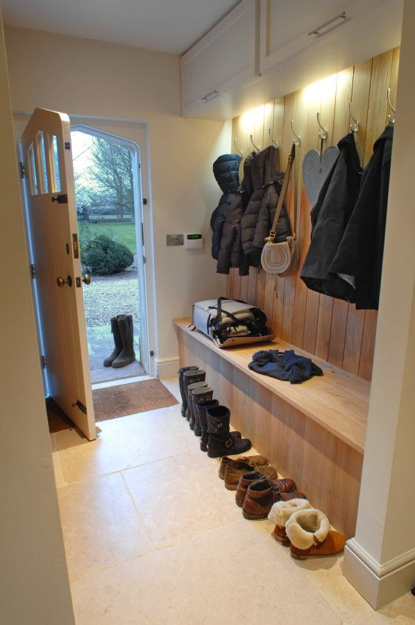A place for wellies and coats