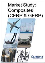 The study examines the global market for carbon fiber reinforced plastics (CFRP) and glass fiber reinforced plastics (GFRP).