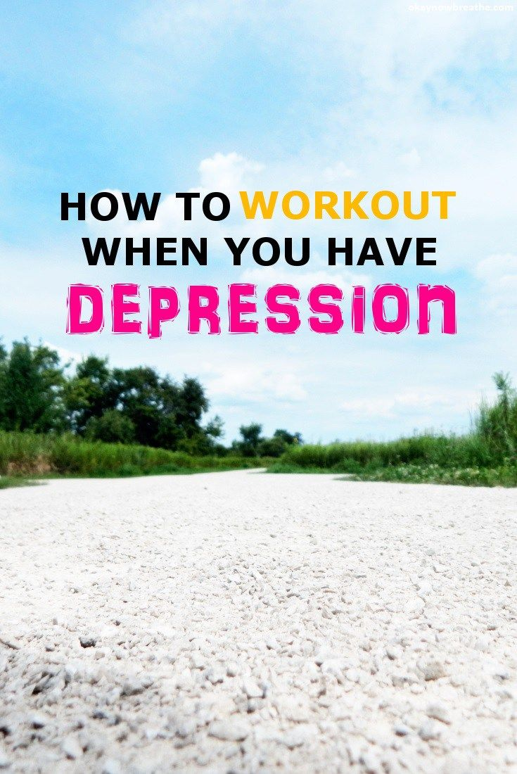 How do you actually exercise when you have depression? How do you find the motivation or productivity when depression keeps fighting against you?