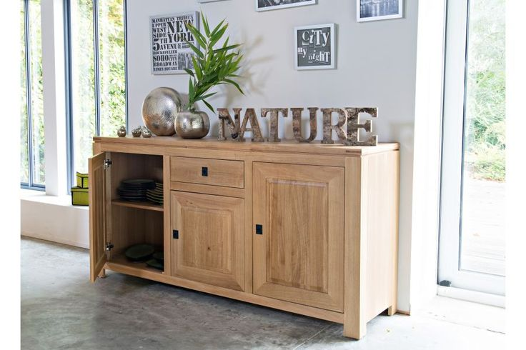 25 best ideas about buffet salon on pinterest buffet design meuble bas and meuble bas cuisine. Black Bedroom Furniture Sets. Home Design Ideas