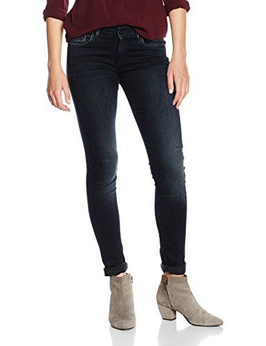 Pepe Jeans Womens Pixie Jeans, Blue (Denim 000-m75), W31/L32 (Manufacturer size: 31) Features: 5 pocket style Zip fly trousers Skinny fit Mid rise Waistband with belt loops Side pockets, Coin pocket, Back pockets Elasticated material Buttons with embossed (Barcode EAN = 8434030912088) http://www.comparestoreprices.co.uk/december-2016-5/pepe-jeans-womens-pixie-jeans-blue-denim-000-m75--w31-l32-manufacturer-size-31-.asp