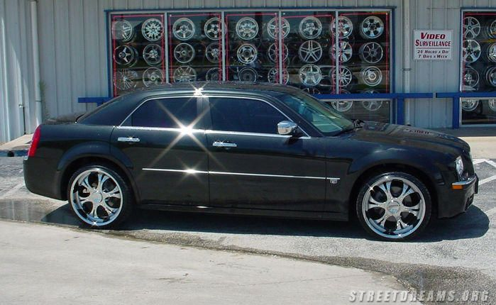Cheap 22 Inch Rims For Chrysler 300 Flashy Shit