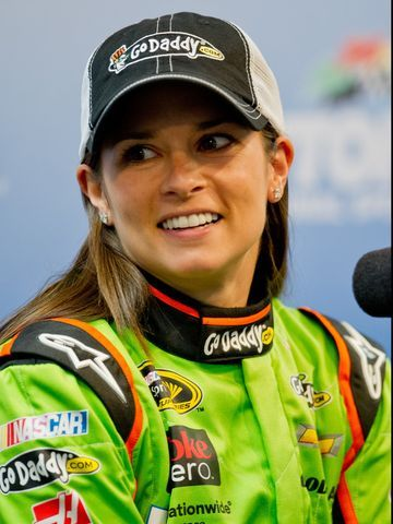 Danica Patrick became the first woman to win the pole position for the Daytona 500.
