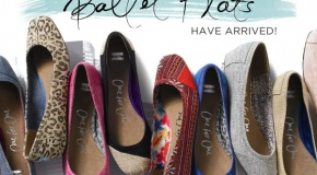 I want some of theseeee :) TOMS ballet flats: Ballet Flat