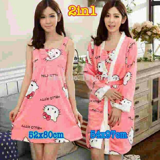 #september #promo #dress + #kimono #hellokitty @ 195.000  #sale #diskon #cucigudang #murahmeriah