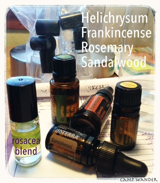 Say Goodbye to Blotchy Red Skin! Make Your Own Essential Oils Blend for Rosacea.