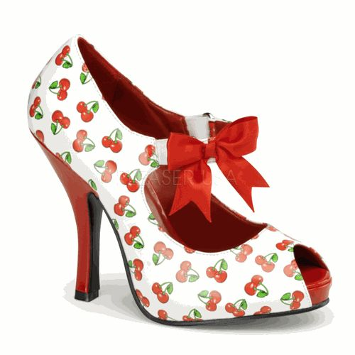cherry-rockabilly shoes