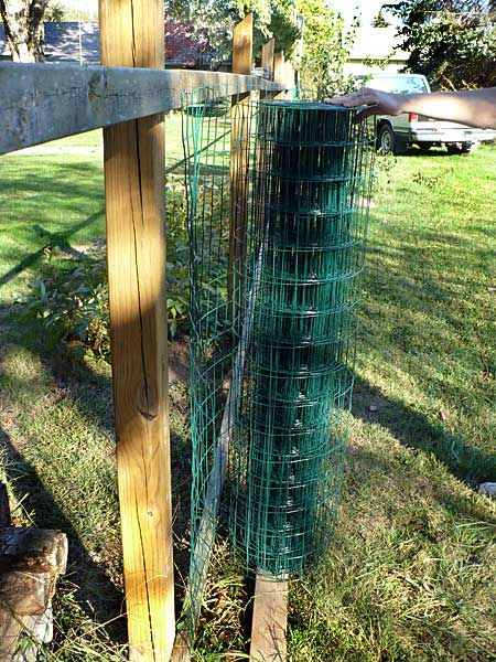 cheap fence with vinyl coated welded wire fence