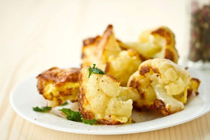 Robin Quivers' Vegan Roasted Cauliflower With Tarragon and Lemon