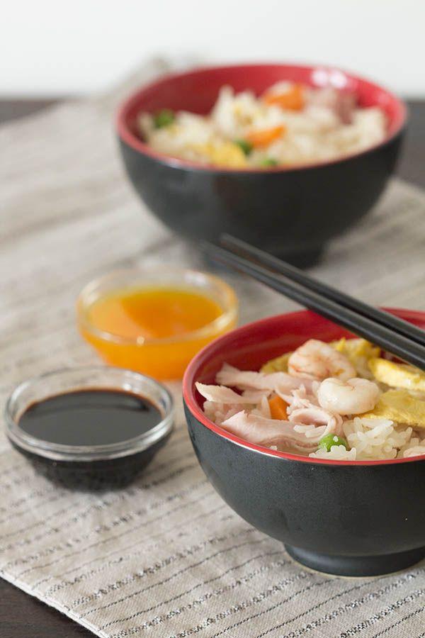 Cómo preparar arroz chino tres (o cinco) delicias con Thermomix