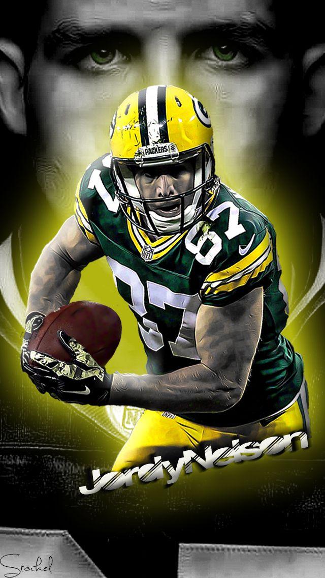 Jordy Nelson / Green Bay Packers / Mobile Wallpaper