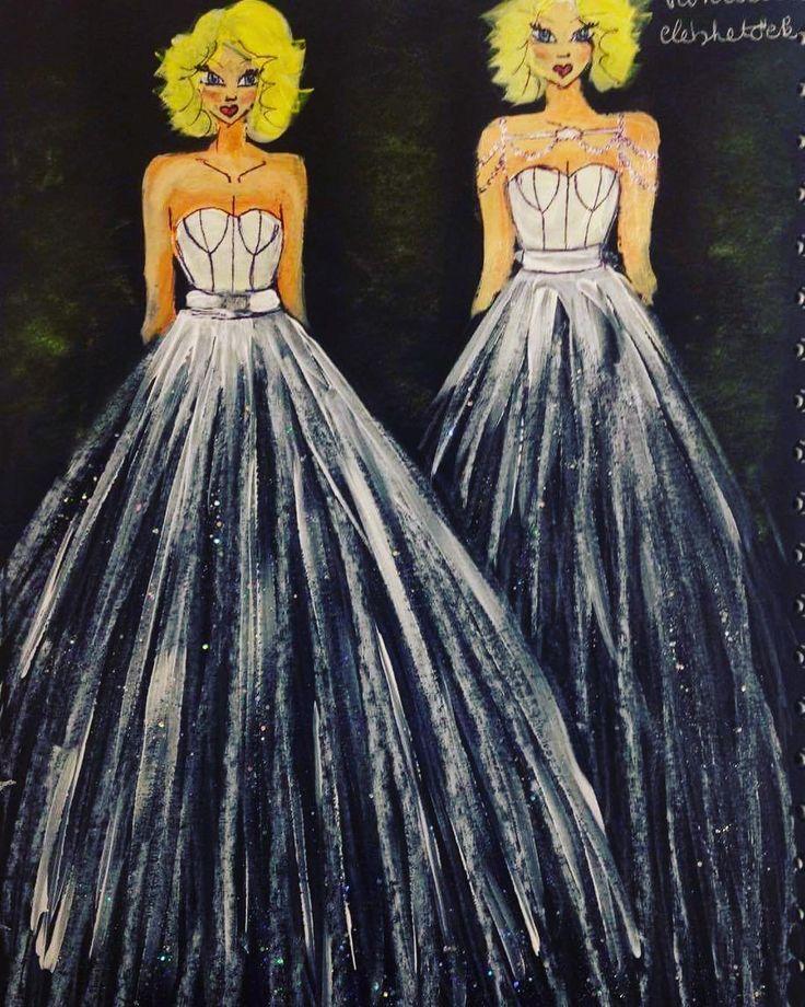 ✨Következo álom✨Csillogó tüllös csoda készülöben. ✨Next dream to come true✨ Sparkly tulle beauty design is ready for production ✨ #dress #wedding #weddingday #weddinggown #gown #sparkly #glitter #sparkle #tulle #bridal #bride #illustration #drawing #dahlia #dália #eskuvo #eskuvoiruha #esküvői #ruha #tüll #csillogás #elegancia #menyasszony #menyasszonyiruha #terv http://gelinshop.com/ipost/1520943160615051446/?code=BUbeb8MBSC2