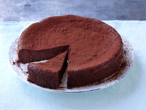 Picture of Flourless Chocolate Torte Recipe - With pasture butter and eggs from pastured hens, it's practically health food.