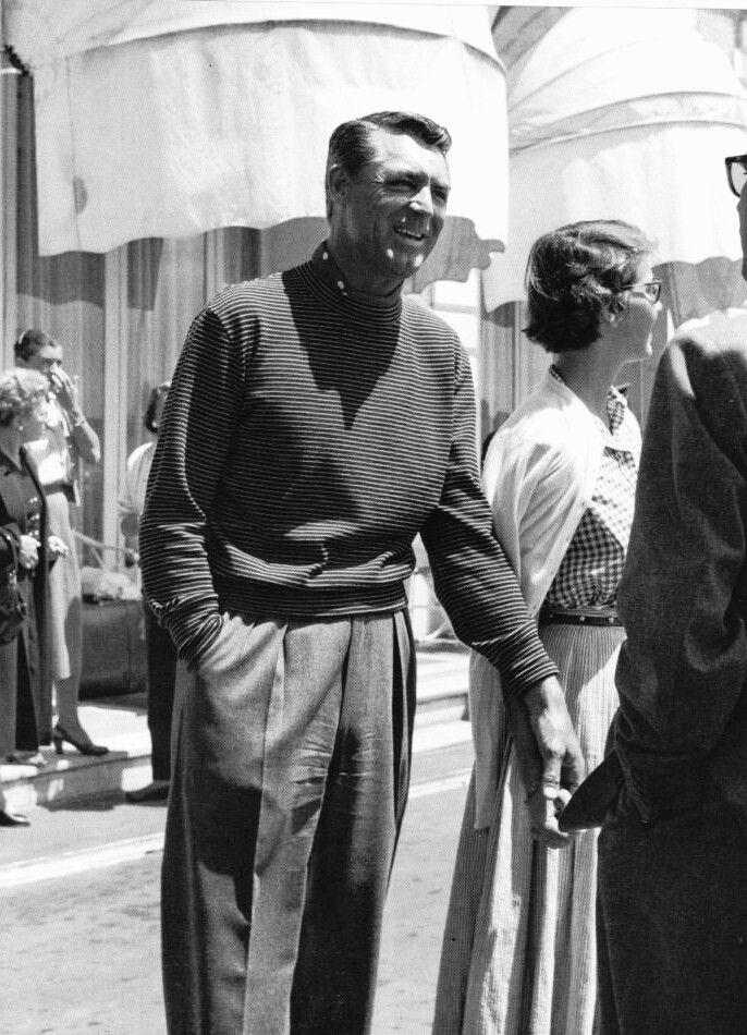 Cary Grant and wife Betsy Drake